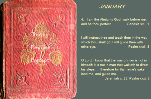 Prayer, promise, precept jan 04 16