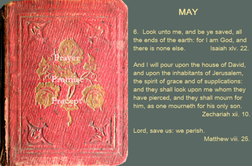Prayer, promise, precept MAY 06 16